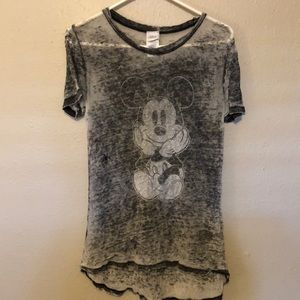 Burnout Mickey Mouse Disney Top Small